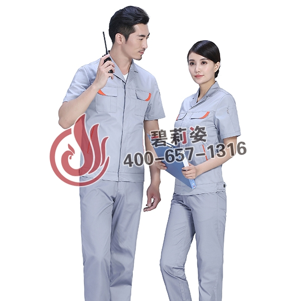 保洁工作服款式图片展示